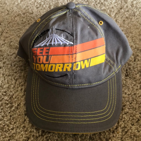 Disney space mountain see you tomorrow hat